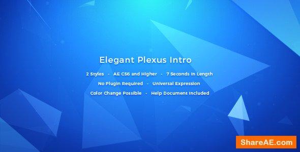 Videohive Elegant Plexus Intro