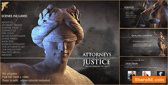 Videohive Law Firm Pack