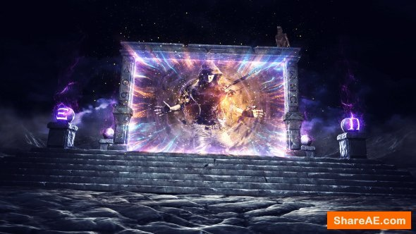Videohive Magic Portal Logo