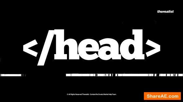 Videohive Typography Intro 15067274