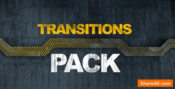Videohive Metal Transitions Pack