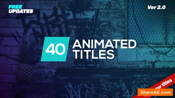 Videohive Minmal Dynamic Typography