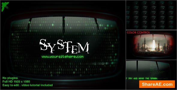 Videohive Matrix Monitors
