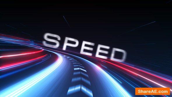 Videohive Speed Logo Intro