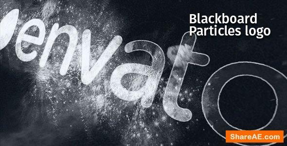 Videohive Blackboard Particles Logo