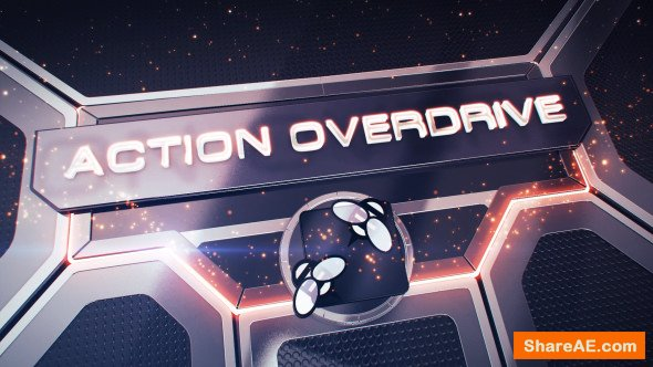 Videohive Action Overdrive 3D Package