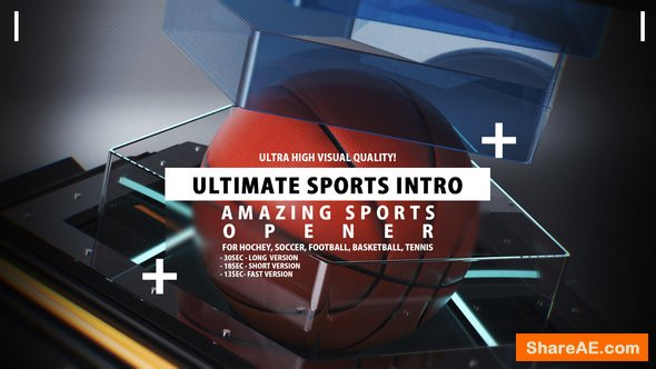 Videohive Your Sports Intro » free after effects templates