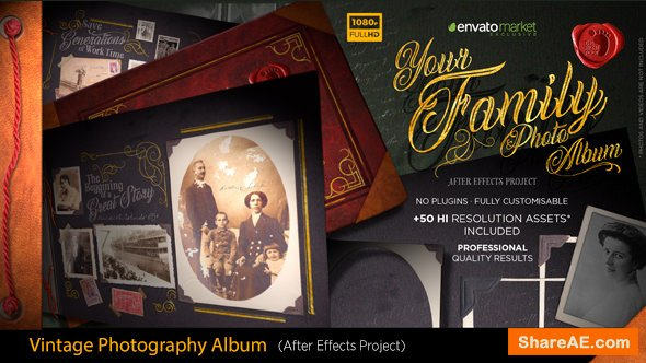 Videohive The Vintage Photography Album