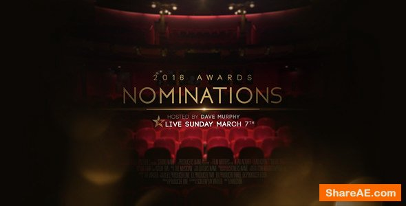 Videohive Awards Nominations Promo