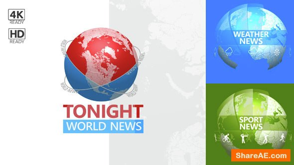 Videohive Tonight World News