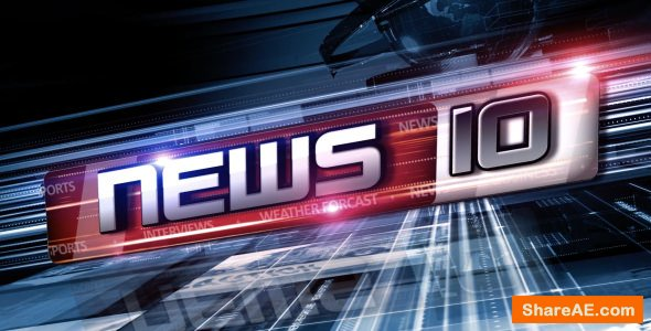 Videohive World News Opener