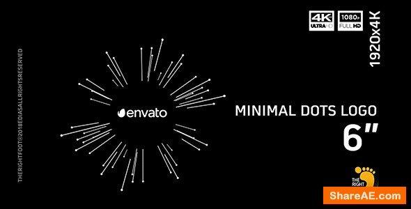 Videohive Minimal Dots Logo