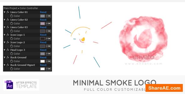Videohive Minimal Smoke Logo