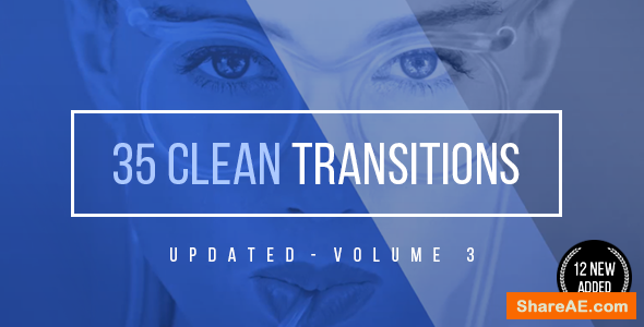 Videohive Clean Corporate Transitions v3