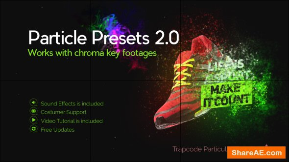 Videohive Particle Presets