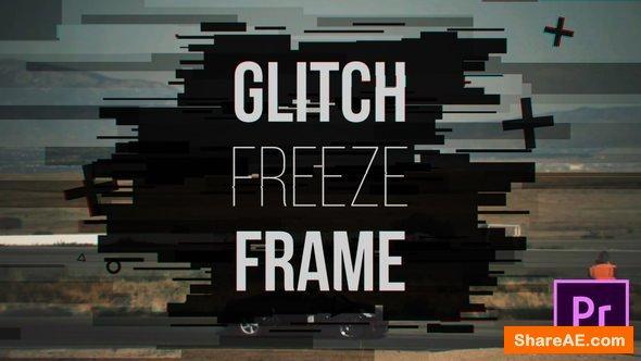 Videohive Glitch Freeze Frame - Premiere Pro Templates