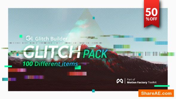 Videohive Glitch Pro | Essential Glitch Effects Pack
