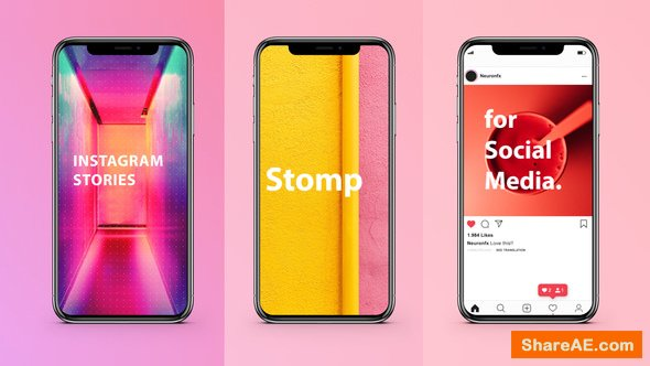 Videohive Instagram Stories Stomp