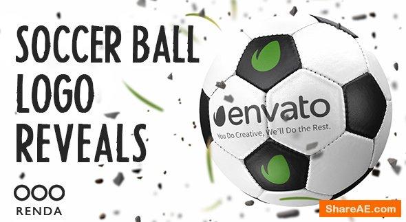 Videohive Soccer Ball Logo Reveals