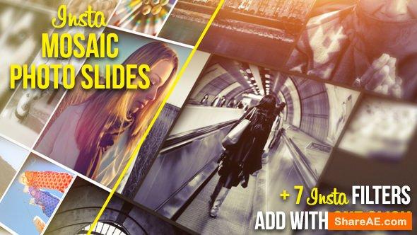Videohive Insta Mosaic Photo Slides