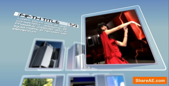 Videohive Stylish cubes