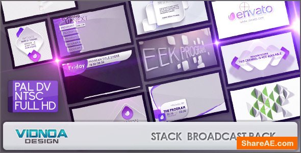 Videohive Stack Broadcast Package
