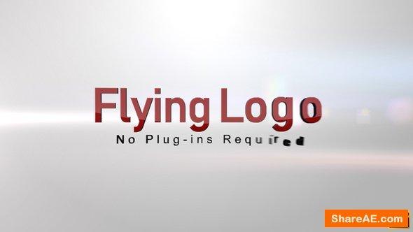 Videohive Flying Logo