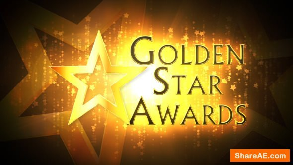 Videohive Golden Star Awards - Broadcast Pack