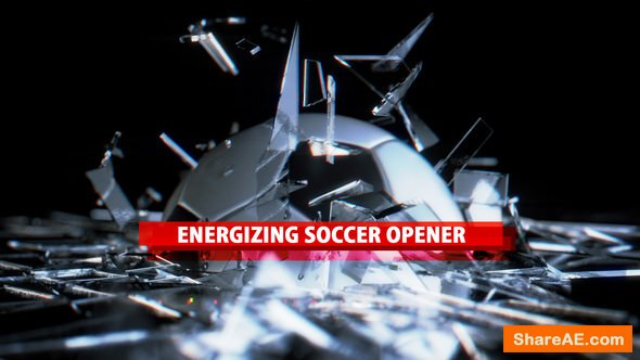 Videohive Energizing Soccer Opener