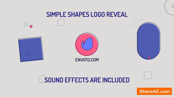 Videohive Simple Shapes Logo
