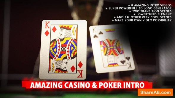 Videohive Amazing Poker Intro