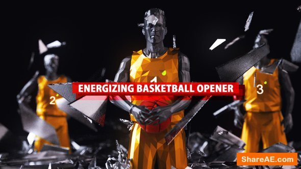 Videohive Energizing Basketball Opener