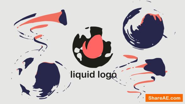 Videohive Quick Liquid Logo