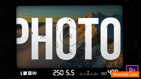 Videohive Photo Transitions - Premiere Pro
