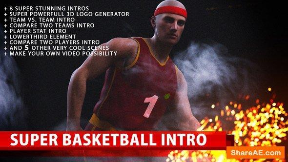 Videohive Super Basketball Intro