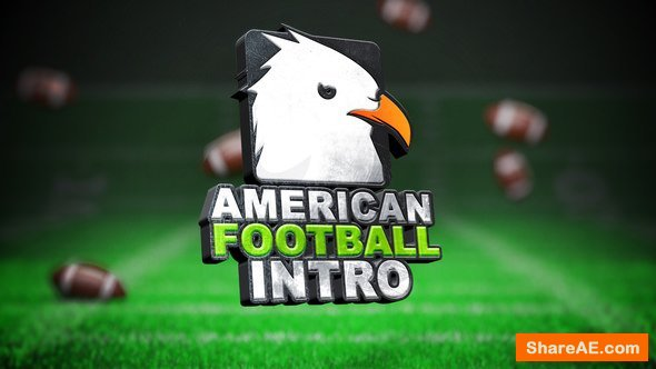 Videohive Cool American Football Intro