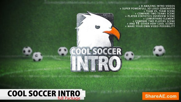 Videohive Cool Soccer Intro