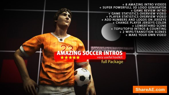 Videohive Amazing Soccer Intros