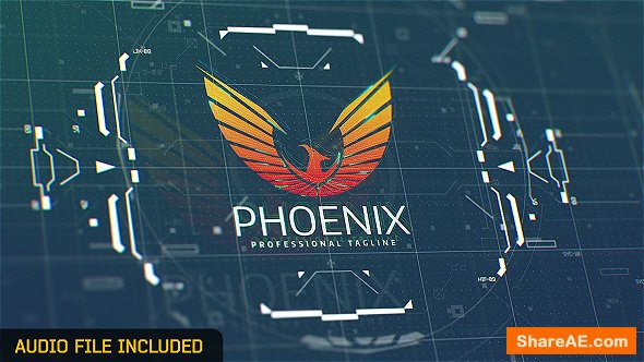 Videohive Hi-Tech / HUD Logo Reveal 19482918