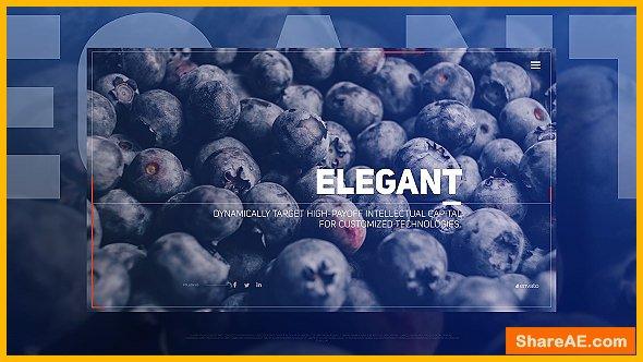 Videohive Elegant Flow Slides