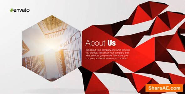 Videohive Corporate Polygon Presentation