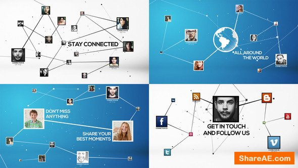 Videohive Stay Connected