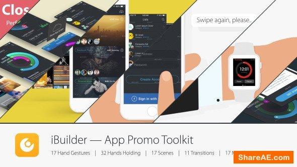 Videohive iBuilder — App Promo Toolkit