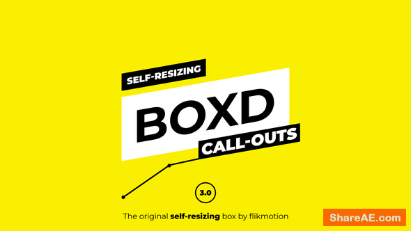 Videohive Self Resizing Call-Outs