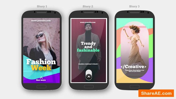Videohive instagram Stories V.4