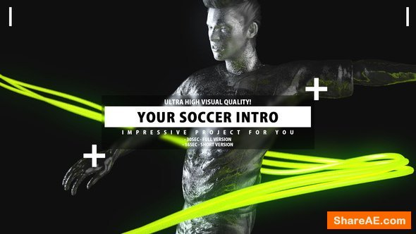 Videohive Your Soccer Intro