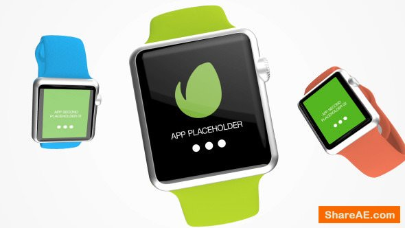 Videohive Smart Watch App Present