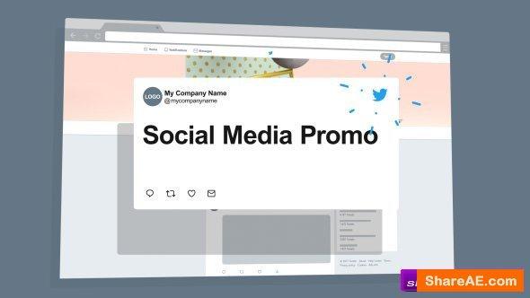 Videohive Social Media Network Promo