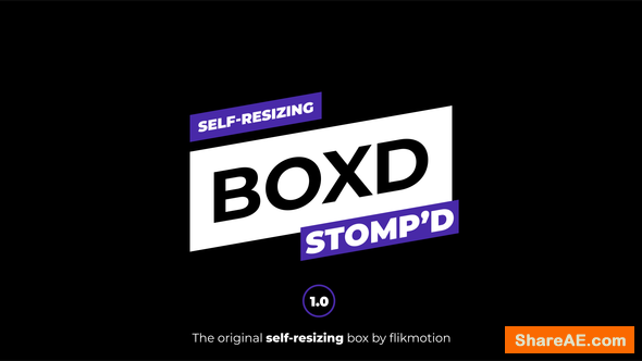 Videohive Self Resizing Opener