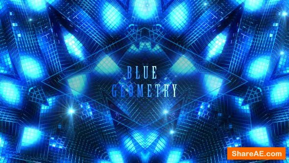 Videohive Blue Geometry - Motion Graphic